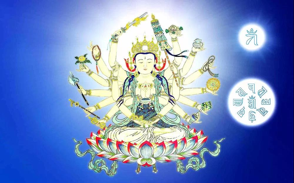 准提佛母与观世音菩萨、度母之关系