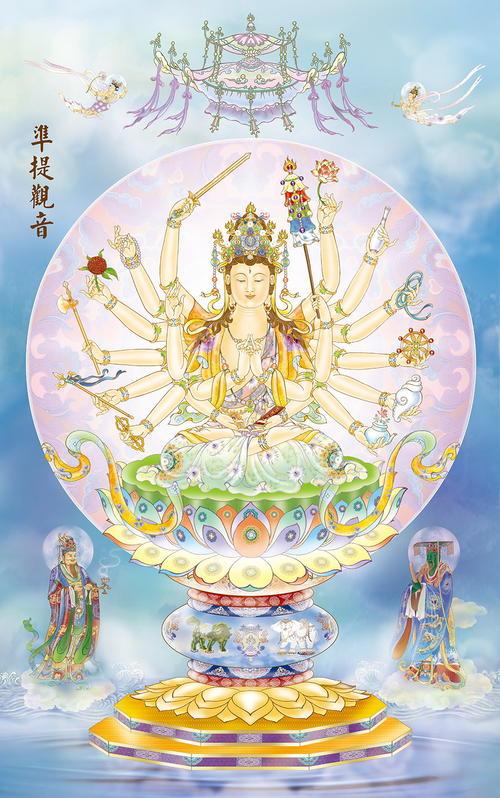 准提佛母与观音菩萨的关系