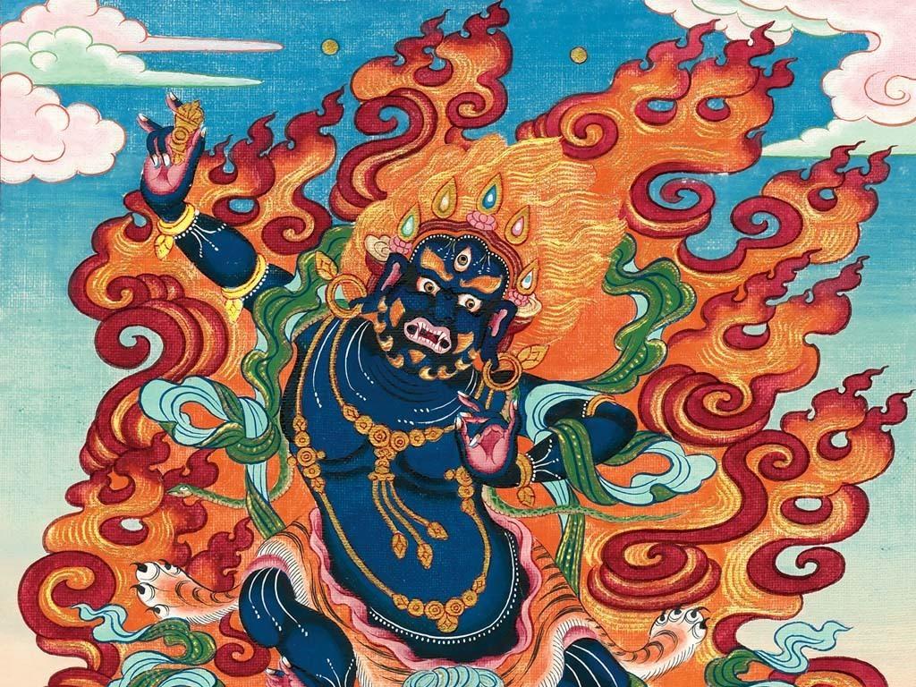 金刚手菩萨的身相和功德
