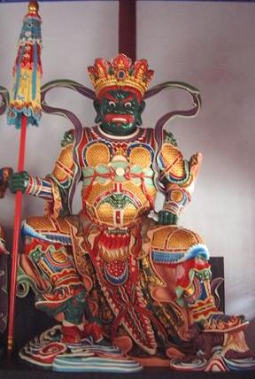 佛教四大护法天神之一:北方昆沙门天王