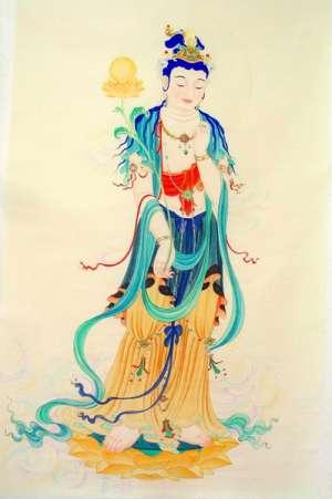 日光菩萨与药师佛