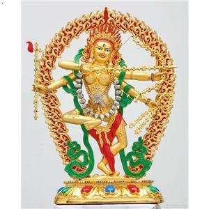 藏传力量女神——作明佛母